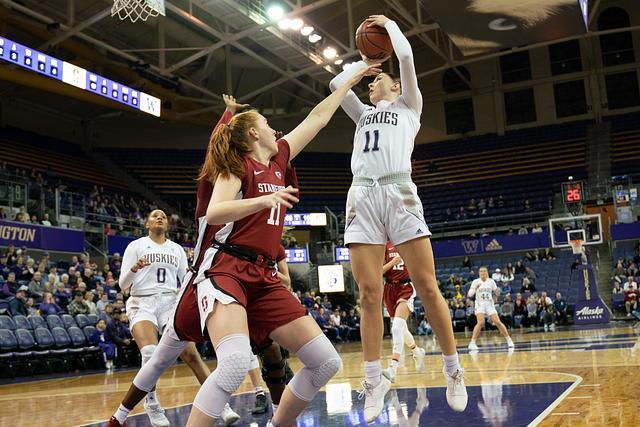 UW Women's Basketball vs Stanford