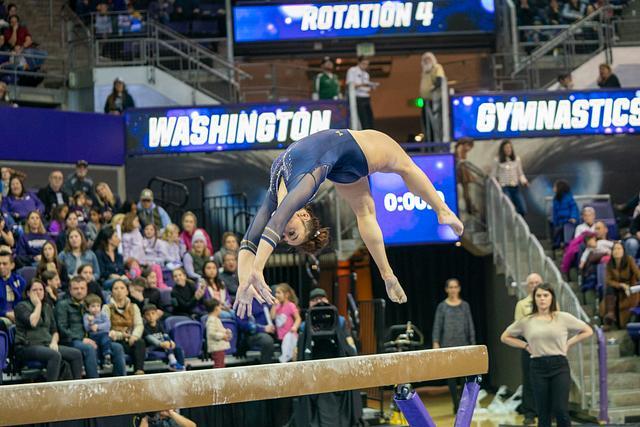 CAL W Gymnastics @ UW