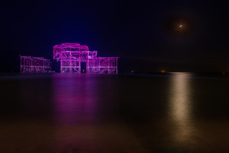 Brighton West Pier is 150 years old