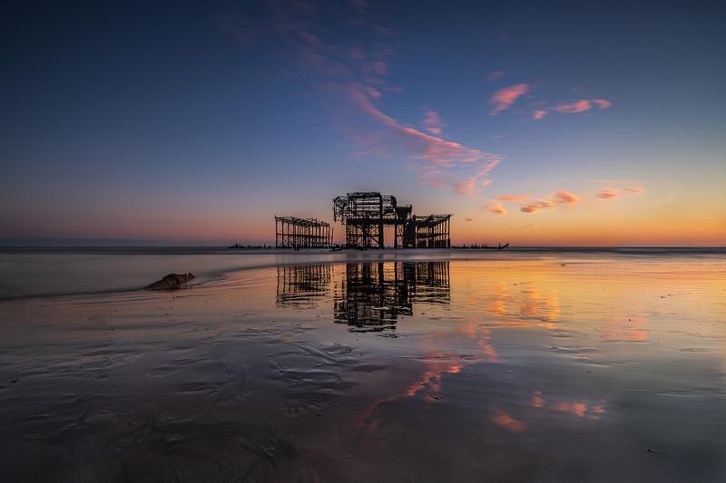 West Pier low tide