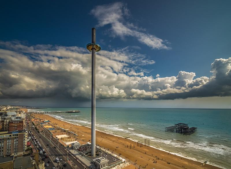 Brighton Beach from above