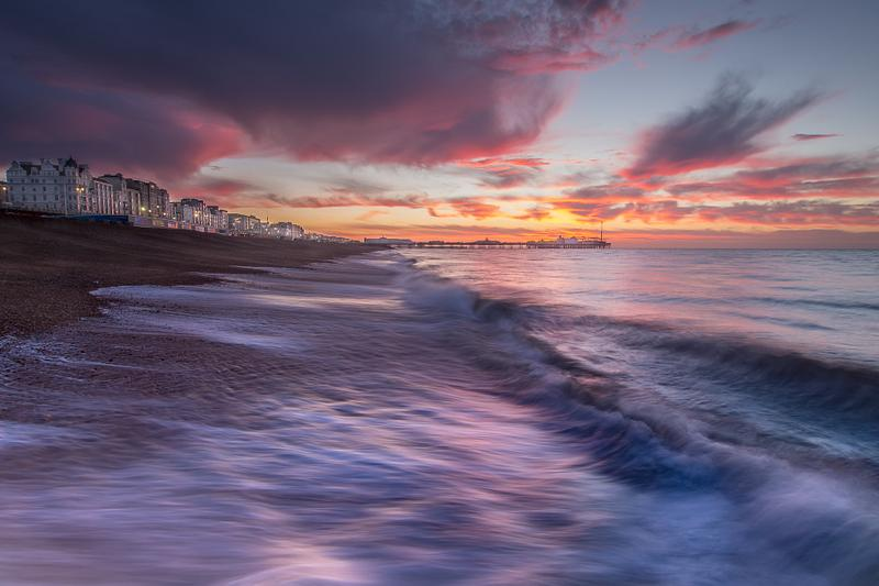 Brighton sunrise