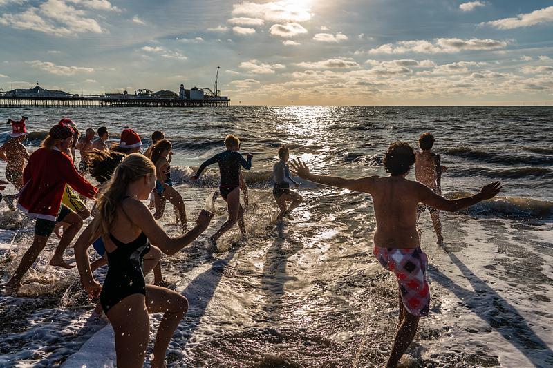 Christmas day swim 2018