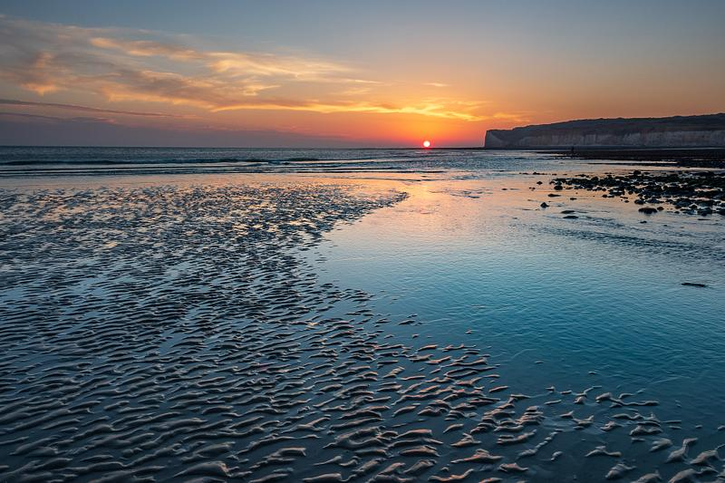 Cuckmere Haven sunset