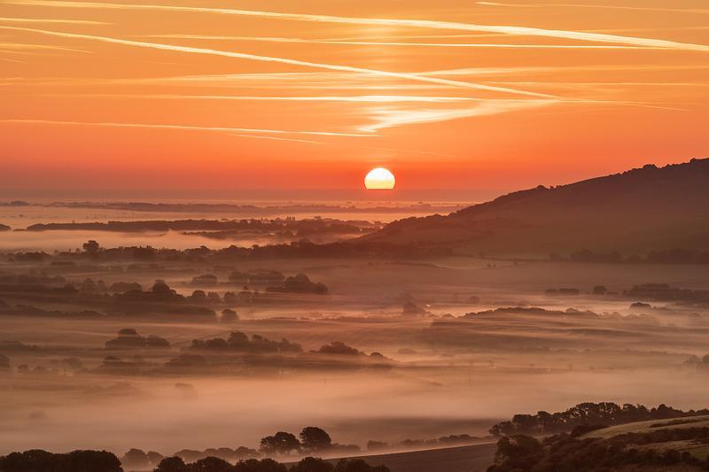 Sunrise over Sussex