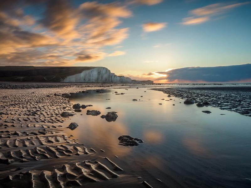 Cuckmere Haven reflections