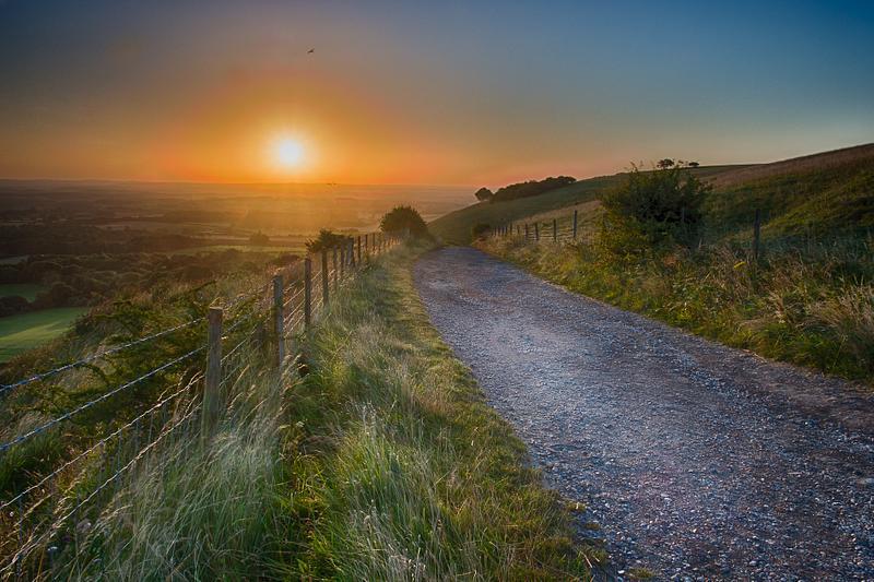Ditchling  Beacon sunrise