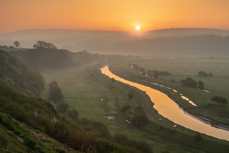 River Cuckere dawn
