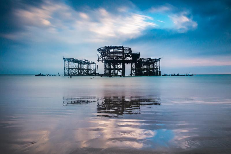 The grand old lady - the West Pier