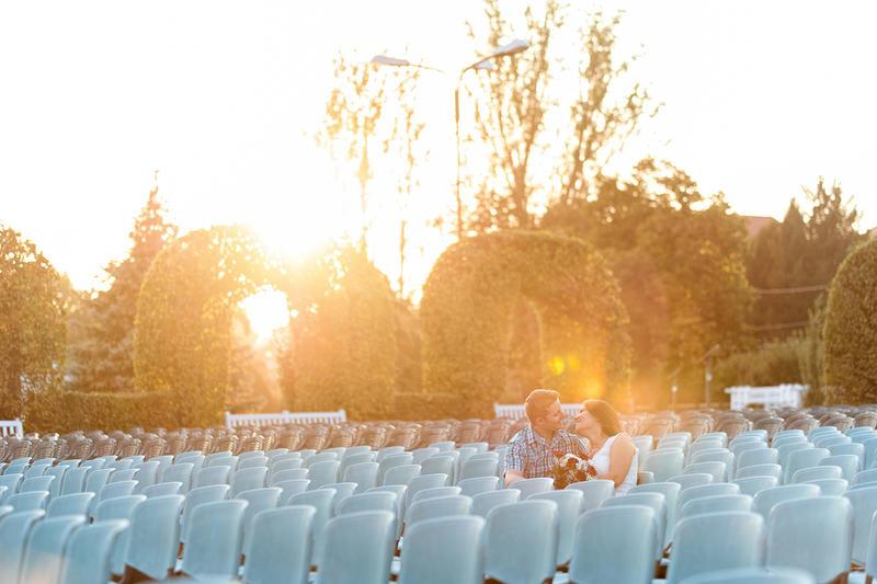 Sedinta foto cuplu inainte de nunta.