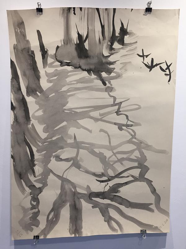 52 Ink Drawings (one)