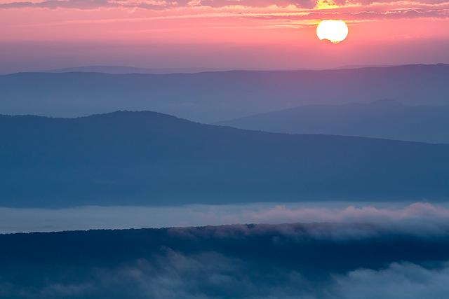 Sunrise Ridges, Dolly Sods
