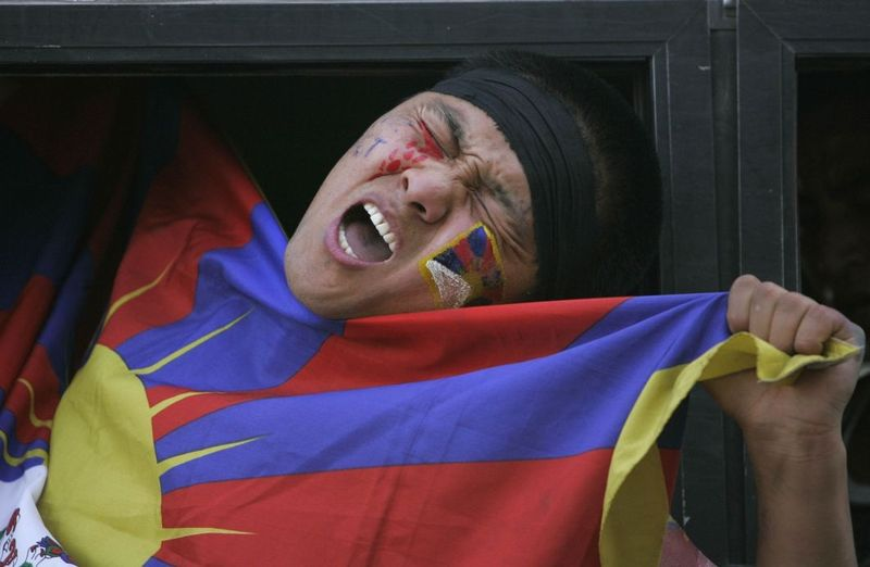 Tibetans Struggle