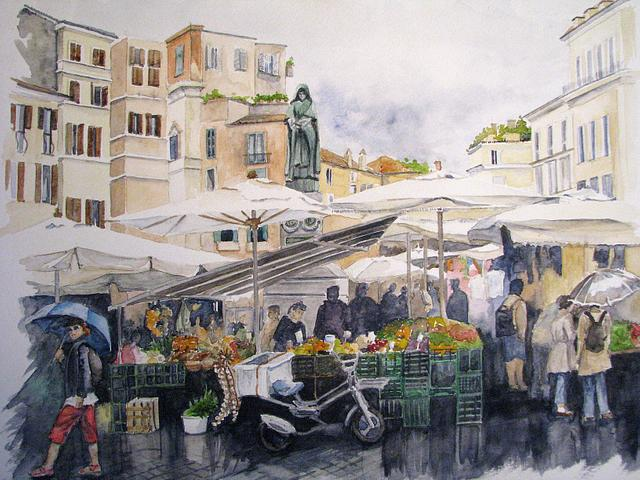 Market Day in Rome
