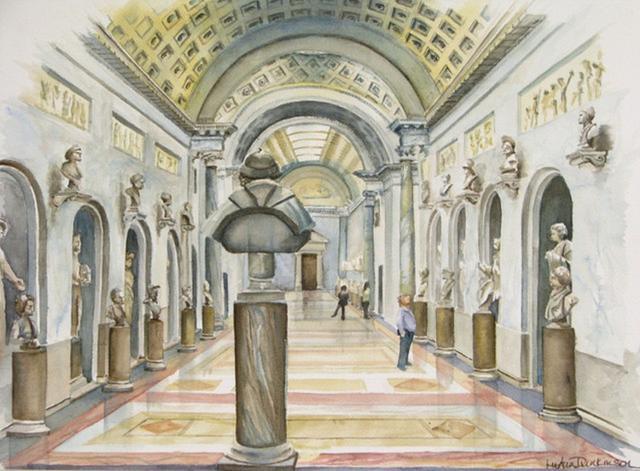 Sunday at the Uffizi