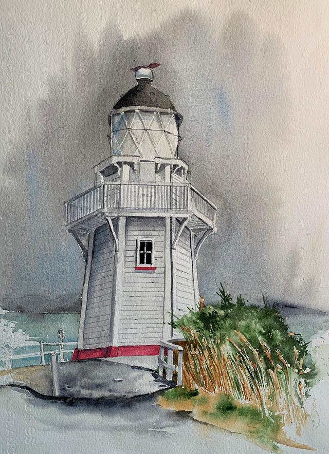 Akoroa Lighthouse
