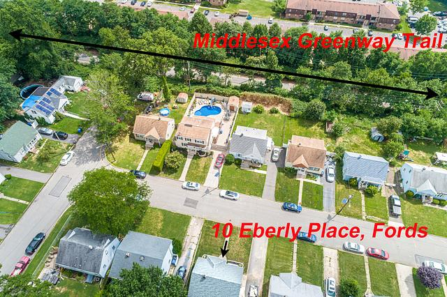 Drone photography in Fords NJ by a Real Estate photographer