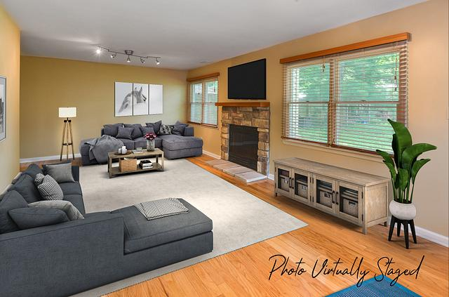 Virtual staging by a real estate photographer in Metuchen NJ
