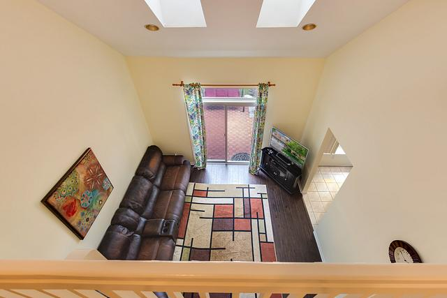Local Real Estate Photographer - NJ - Family room in Edison home in NJ. Top view down