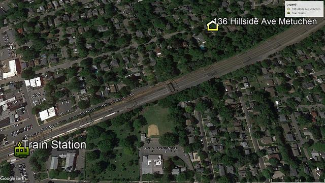 Google Earth picture for a Metuchen Home