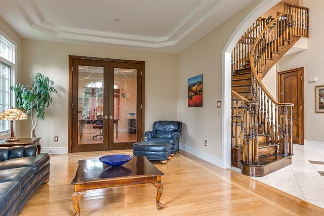 Local Real Estate Photographer - NJ - Living Room in Colonia (Estate Section) home in Middlesex County NJ