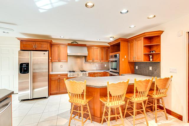 Kitchen - real estate photographer in Somerset
