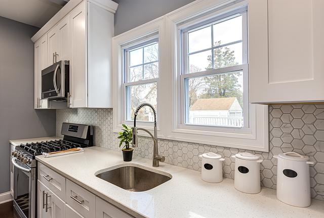 Kitchen detail shot by a real estate photographer in Plainfield