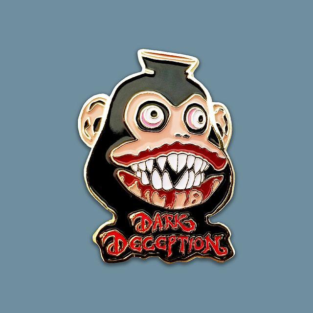 Dark Deception Monkey - 4.445 cm Enamel Pin