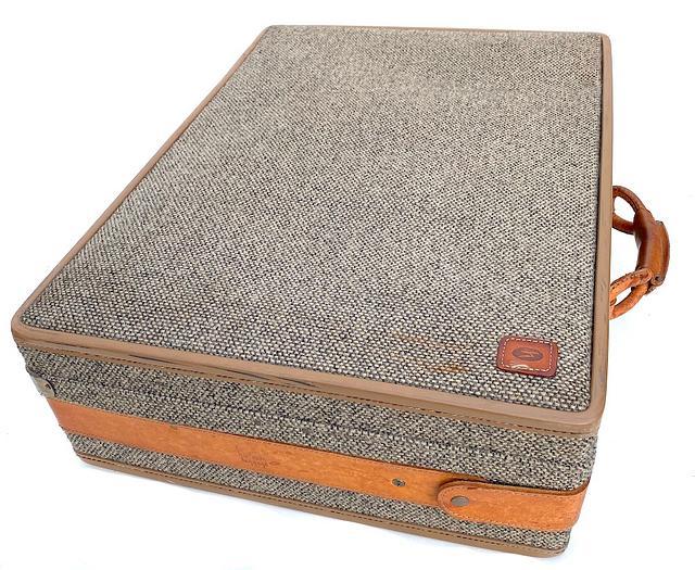 """Vintage Hartmann 'Woodbox Pullman' 26"""" Suitcase"""
