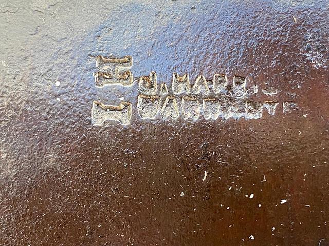 Large Antique Billhook Stamped 'J. Harris- Warranted I.H.'