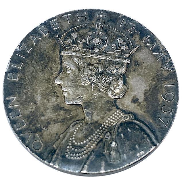George VI Silver Coronation Medal 1937