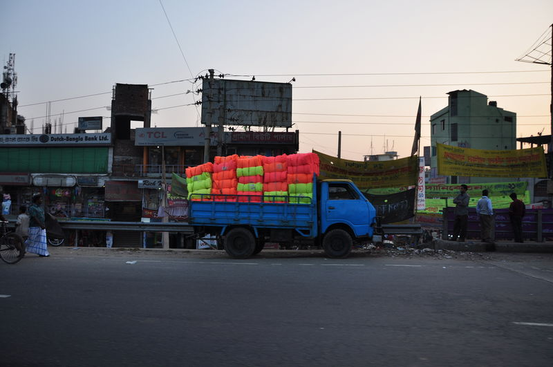 Fabric Truck