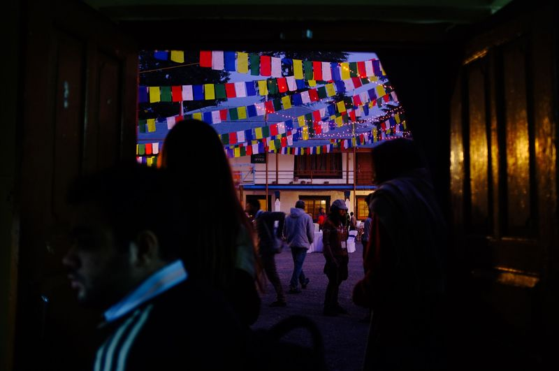 Tibetan institute of performing arts.