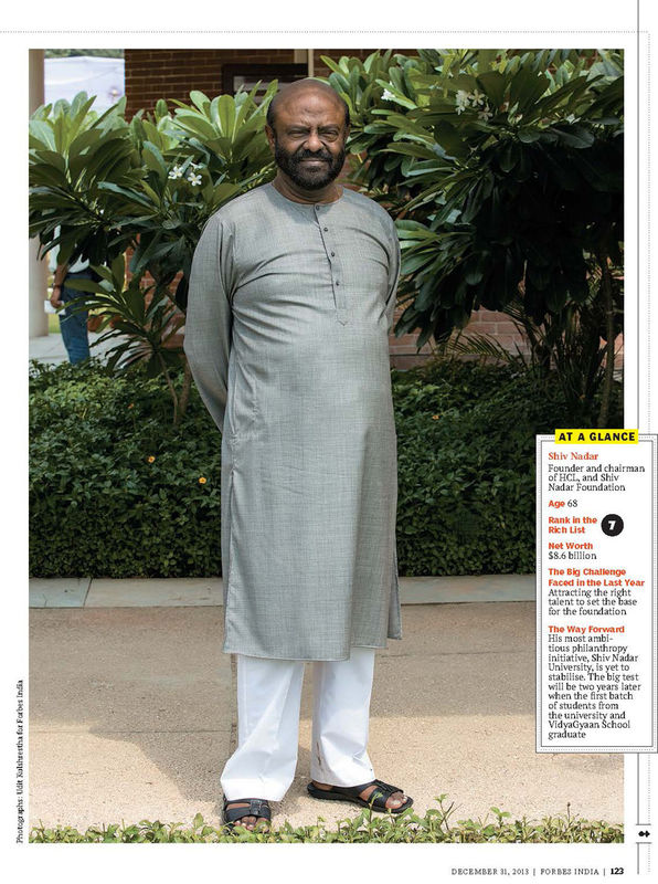 Shiv Nadar | Chairman HCL Corporation