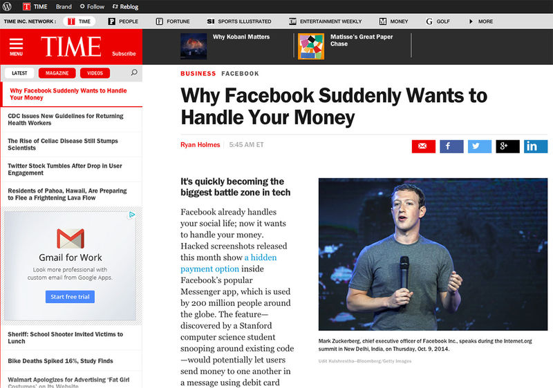 Mark Zuckerberg for Bloomberg