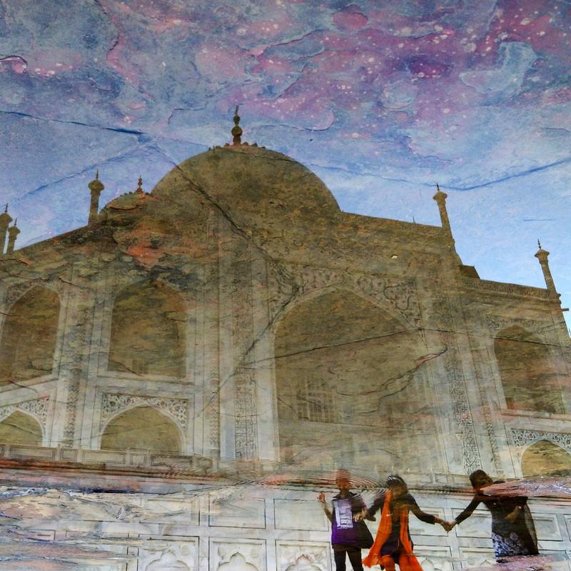 The Taj Mahal, Agra