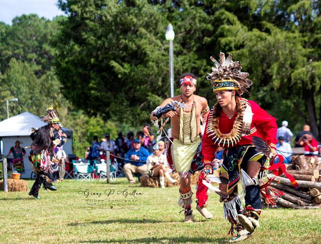 Meherrin Pow-wow Dancers