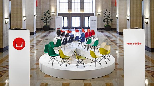 Eames Shell Chair Exhibition