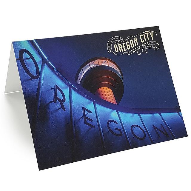Greeting Card - Oregon City Municipal Elevator