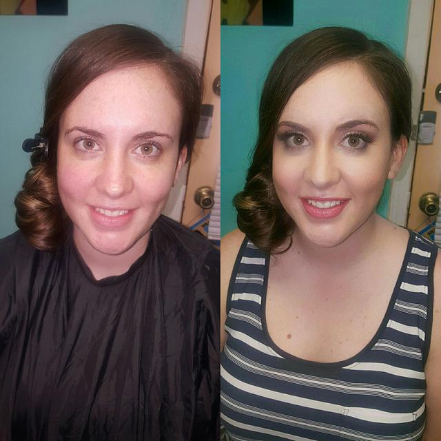 Bridal Before/After
