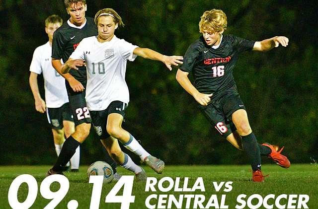 09.14 Rolla vs Central Soccer