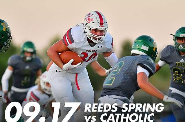 Reeds Spring vs Catholic FB