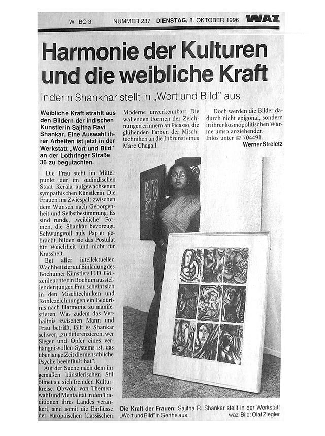 Deutsche (German) Newspaper Clippings