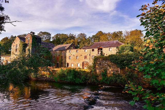 The Old Mill at Inniskeen, Co. Monaghan Photographic Print