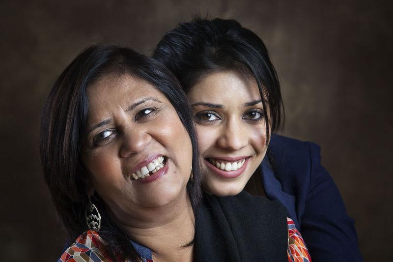 Pammi Hastu with her daughter, Kaisha.