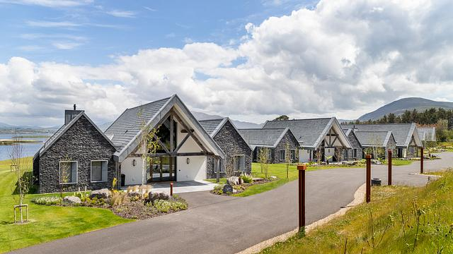 Holiday Chalets — Glenfort Timber Engineering