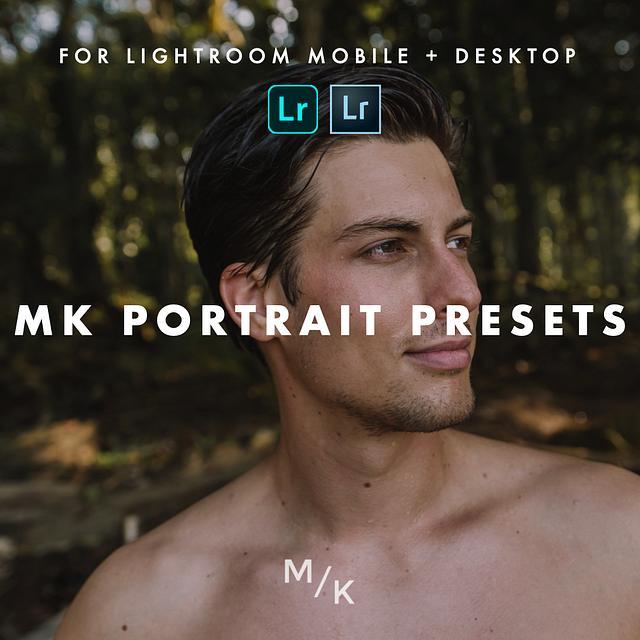 MK Portrait Lightroom Presets