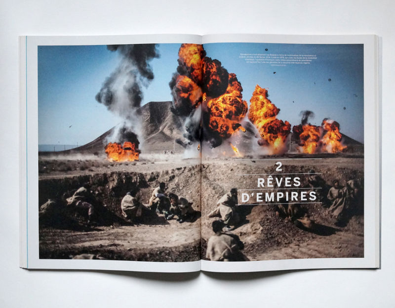 "Printed in Le Monde Hors-série ""EMPIRES"" Magazine"