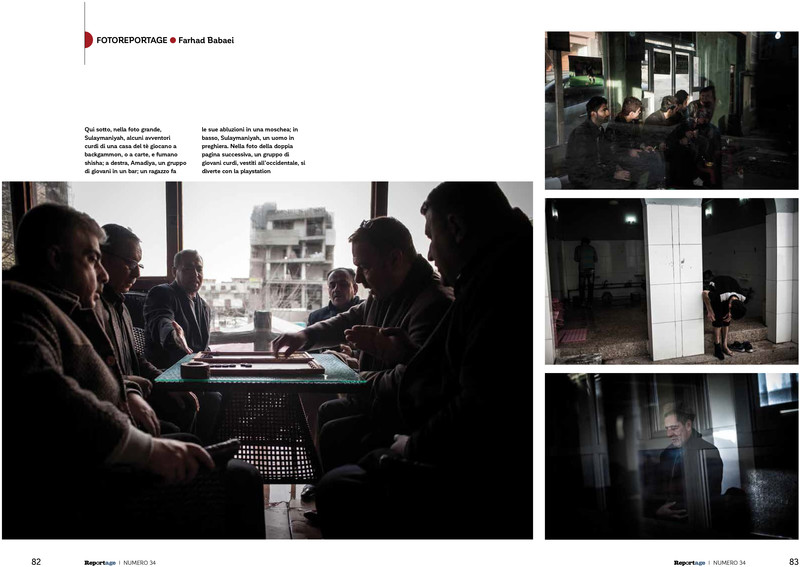 Printed in ilReportage Magazine