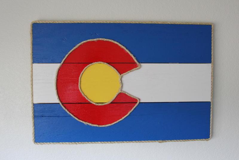 Colorado Flag Artwork